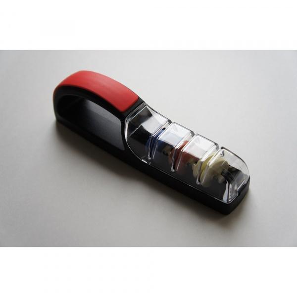 Ostrzałka wodna 550, MinoSharp PLUS 3  Ceramiczna czarno-czerwona HK-550/BR