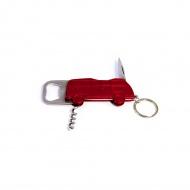 Otwieracz 12x4,5x1 cm BRISA VW BUS czerwona