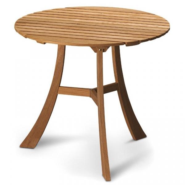 Owalny stolik drewniany Skagerak Vendia S1600400