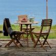Owalny stolik drewniany Skagerak Venida S1600400