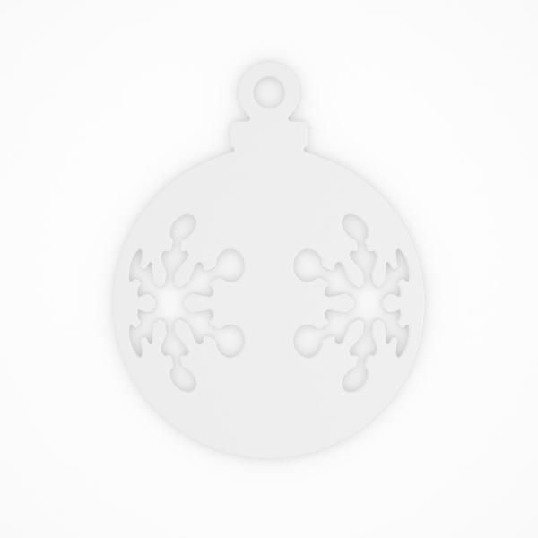 Ozdoba świąteczna Koziol Snow 2szt. biała KZ-5118525
