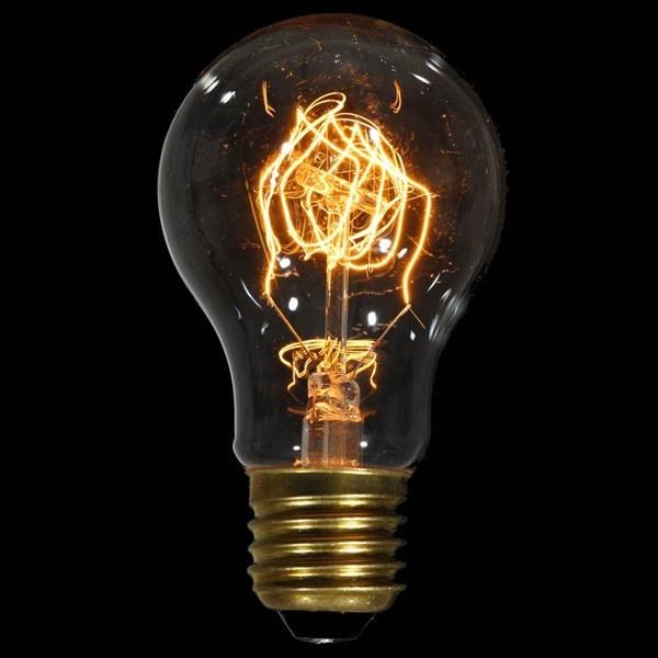 Ozdobna żarówka E27 40W Carbon de Luxe Danlamp z dekoracyjnym żarnikiem DL-08066
