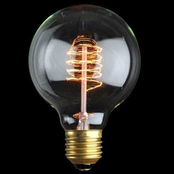 Ozdobna żarówka E27 40W Globe de Luxe Danlamp z dekoracyjnym żarnikiem DL-08062