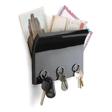 Panel z magnesami na klucze i listy Umbra Magnetter