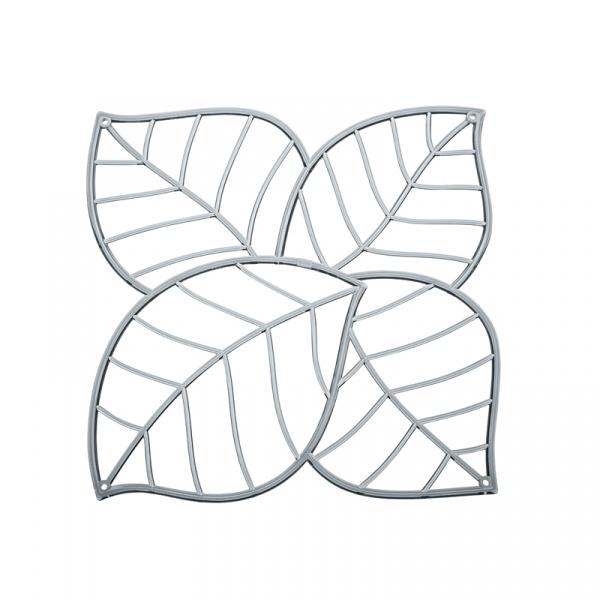 Panele dekoracyjne 4 szt. Koziol Leaf antracytowe KZ-2043540