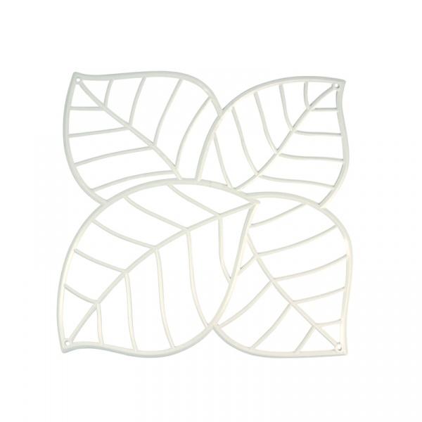 Panele dekoracyjne 4 szt. Koziol Leaf białe KZ-2043525