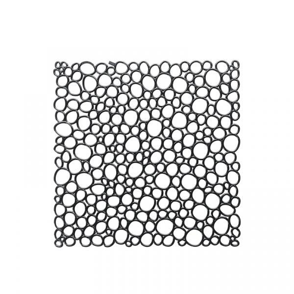 Panele dekoracyjne 4 szt. Koziol Oxygen czarne KZ-2041526