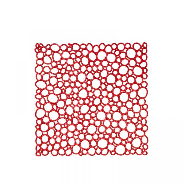 Panele dekoracyjne 4 szt. Koziol Oxygen czerwone KZ-2041536