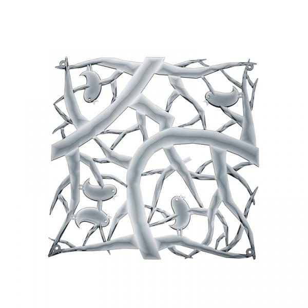 Panele dekoracyjne 4 szt. Koziol Pi:p antracytowe KZ-2042540