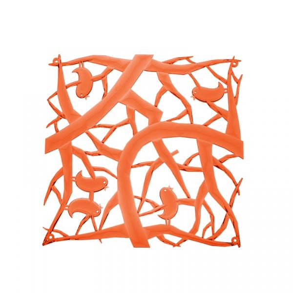 Panele dekoracyjne 4 szt. Koziol Pi:p pomarańczowe KZ-2042509