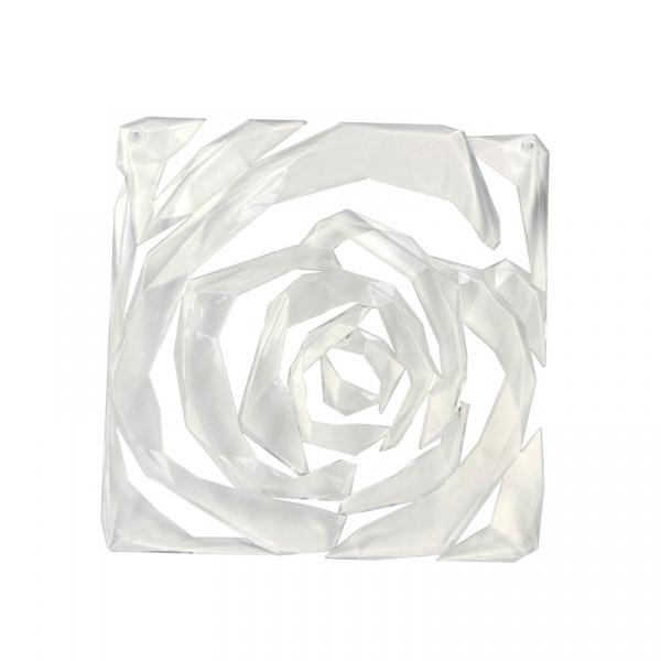 Panele dekoracyjne 4 szt. Koziol Romance transparentne KZ-2039535