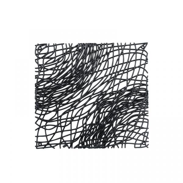 Panele dekoracyjne 4 szt. Koziol Silk czarne KZ-2033526