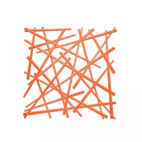 Panele dekoracyjne 4 szt. Koziol Stixx pomarańczowe KZ-2037509