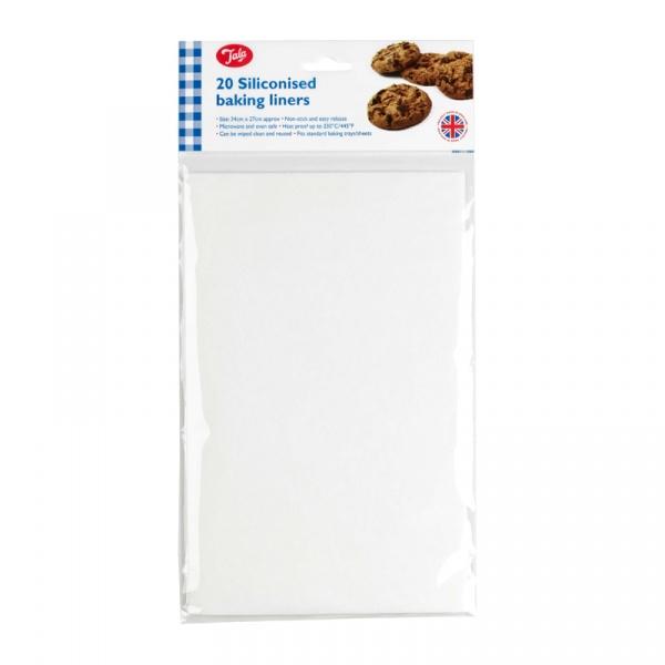 Papier do pieczenia silikonowany 20 szt. Tala 10A05224