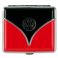 Papierośnica 2x8,5x9,5 cm BRISA VW Bus czerwono-czarna