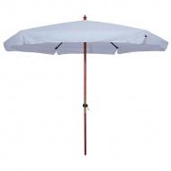 Parasol Ogrodowy Drewniany 300 cm : Kolor - Grey