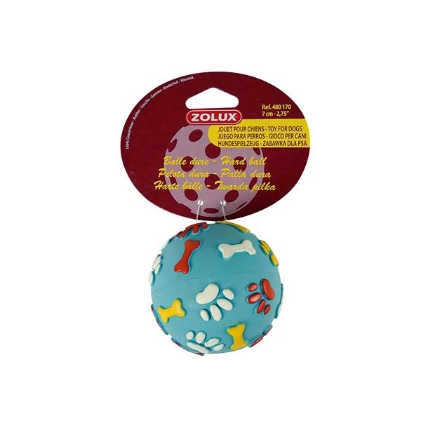 Piłka dla psa kauczukowa Zolux twarda 7 cm 480170