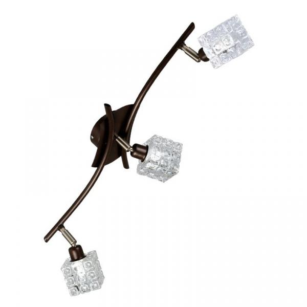 Plafon Mirra 3 Wenge Lampex 122/3 WEN