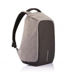 Plecak antykradzieżowy 44cm XDDesign Bobby szaro-czarny