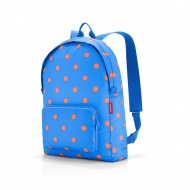 Plecak mini maxi rucksack azure dots