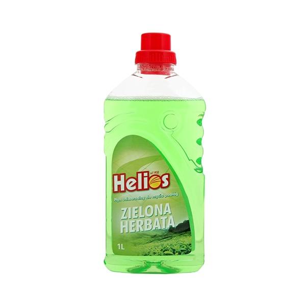 Płyn uniwersalny do mycia podłóg 1l Helios zielona herbata 5902145003753