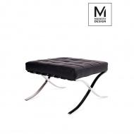 Podnóżek 38x61cm King Home Barcelon Prestige czarny
