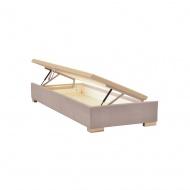 Podstawa łóżka kontynentalnego Hunt z pojemnikiem na pościel do materaca 80x200 cm