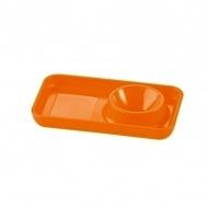 Podstawka pod jajko 1,8x11,6x7cm Koziol Pott pomarańczowa