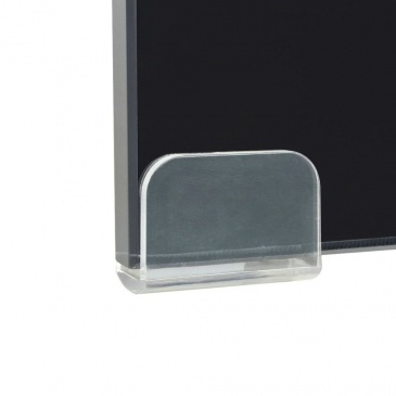 Podstawka pod monitor / telewizor szklana 100x30x13 cm