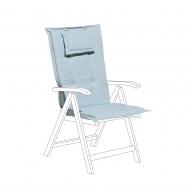 Poducha na krzesło Lucaniaso jasnoniebieska BLmeble