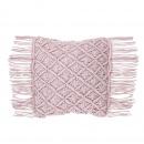 Poduszka dekoracyjna 40 x 40 cm różowa YANIKLAR