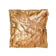 Poduszka dekoracyjna 40x40cm Papeda złota