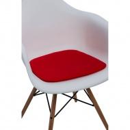 Poduszka na krzesło Arm Chair czerwona