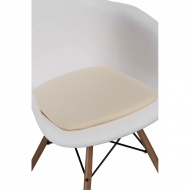 Poduszka na krzesło Arm Chair ecru