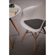 Poduszka na krzesło Arm Chair szara jas.