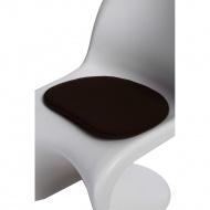 Poduszka na krzesło Balance brązowa