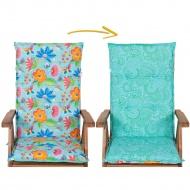 Poduszka na Krzesło ogrodowe Dwustronna : Kolor - 724-02/726