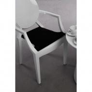 Poduszka na krzesło Royal czarna