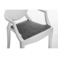 Poduszka na krzesło Royal szara jasna