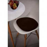 Poduszka na krzesło Side Chair brązowa