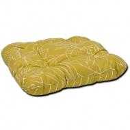 Poduszka na taboret 38x38cm Bazkar żółta