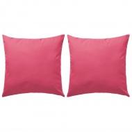 Poduszki na zewnątrz, 2 szt., 60 x 60 cm, różowe
