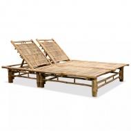 Podwójny leżak, bambus