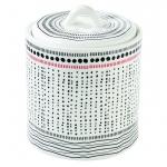 Pojemnik kuchenny porcelanowy z pokrywą 13cm Nuova R2S Organic