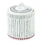 Pojemnik kuchenny porcelanowy z pokrywą na przyprawy Nuova R2S Organic