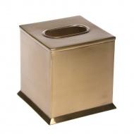 Pojemnik na chusteczki Florance Brass 14x14x14 cm