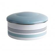 Pojemnik na ciasto 23x12cm Jamie Oliver Vintage niebiesko-biały