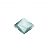 Pojemnik na drobiazgi PO: matowy srebrny