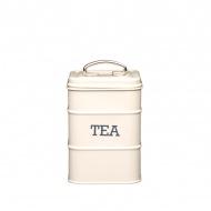 Pojemnik na herbatę Kitchen Craft Living Nostalgia kremowy