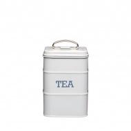 Pojemnik na herbatę Kitchen Craft Living Nostalgia szary